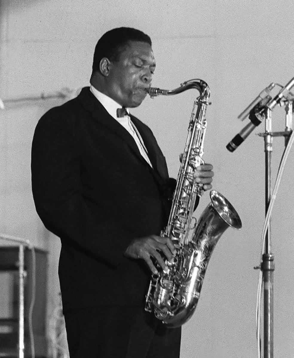 O saxofonista John Coltrane (Foto: AFP)