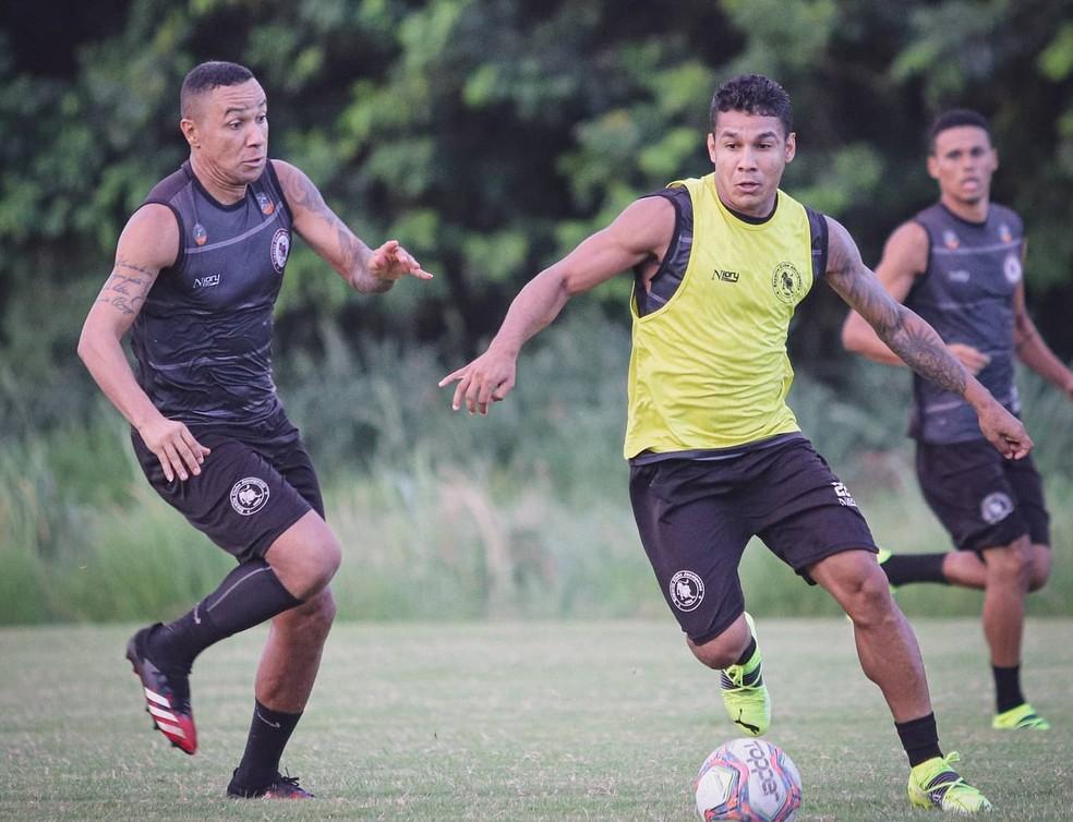 Jacuipense terá desfalques para a partida deste domingo — Foto: Divulgação / EC Jacuipense
