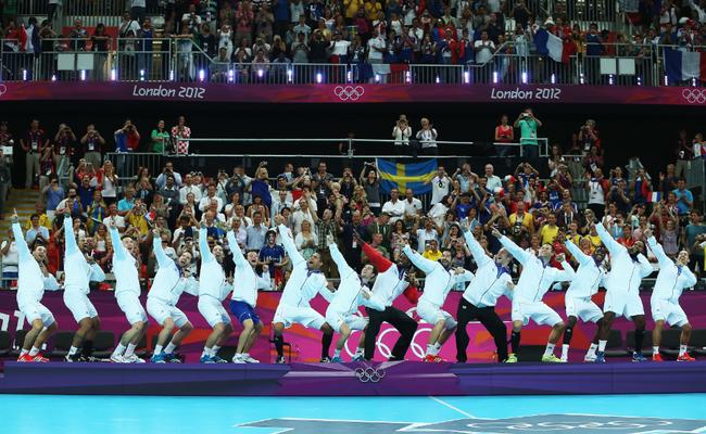 Seleção francesa de handebol (Foto: Jeff Gross / Getty Images)