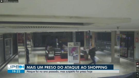 Preso mais um suspeito de explodir caixa eletrônico em shopping de Campina Grande