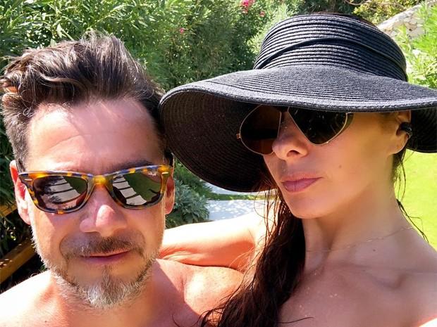 Alexandre Iódice e Adriane Galisteu (Foto: Reprodução / Instagram)