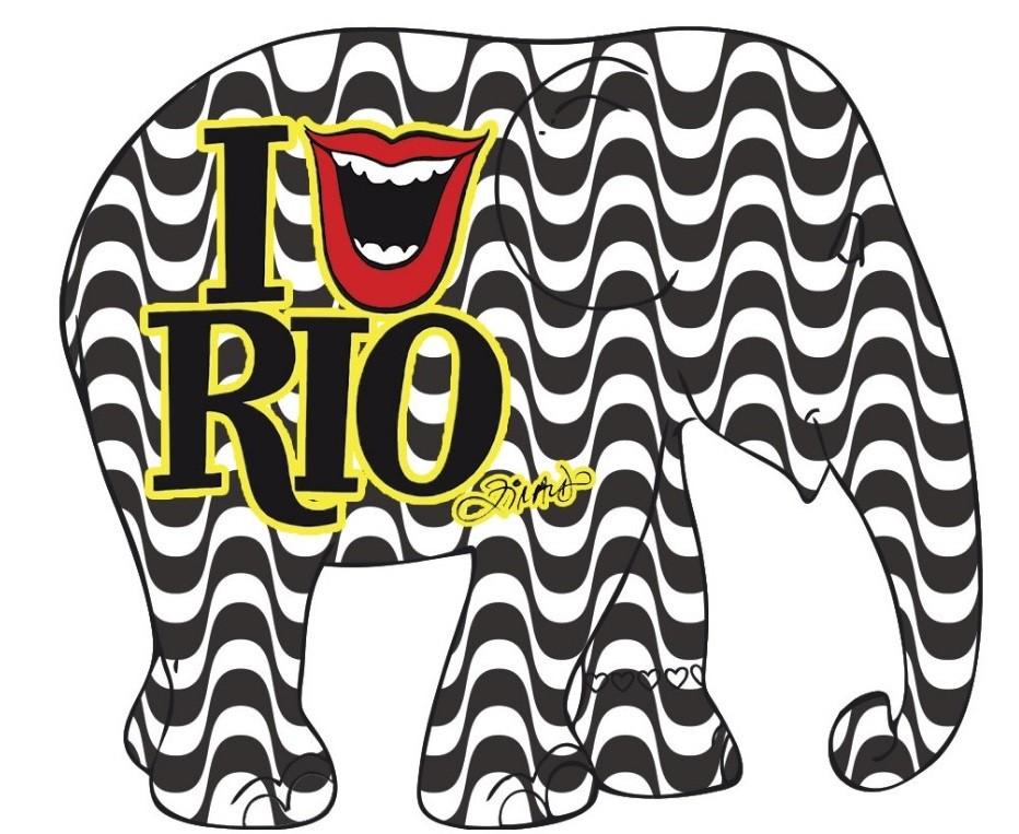 Desenho de Ziraldo será leiloado no Copacabana Palace