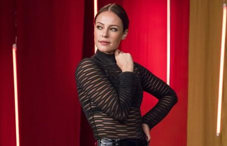 Na quarta (29), Virgínia (Paolla Oliveira) será convidada para participar do 'Encontro com Fátima Bernardes' TV Globo