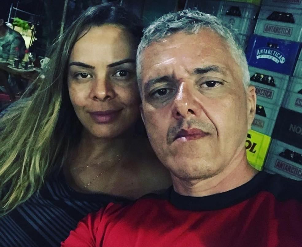 Pedro Jorge Brasil e a mulher, Hedvane Ferreira, presos na Operação Trickste (Foto: Facebook/Reprodução)