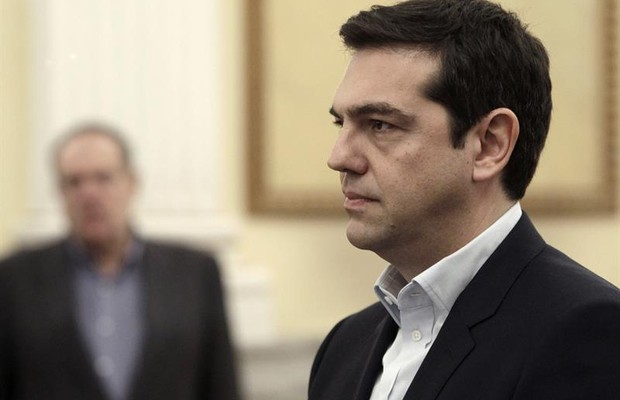 Alexis Tsipras, novo primeiro ministro da Grécia (Foto: Agência EFE)