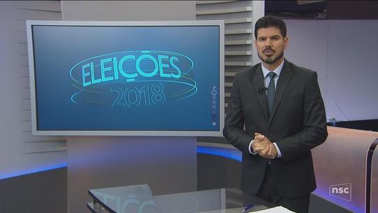 Veja a agenda dos candidatos ao governo de SC nesta segunda-feira (10)