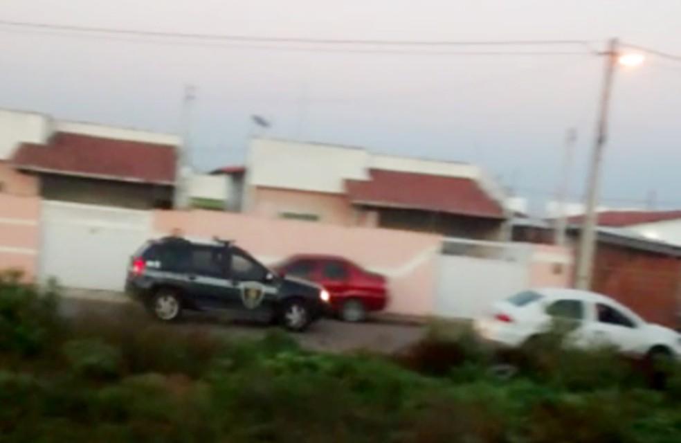 Confronto aconteceu dentro do residencial Parque dos Flamboyants, em Parnamirim (Foto: Divulgação/PM)