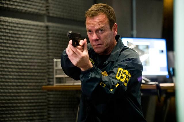 Kiefer Sutherland, o Jack Bauer de '24 horas' (Foto: Reprodução)