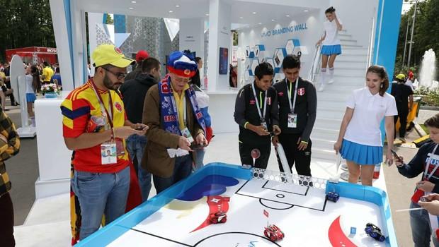Futebol de robôs Vivo (Foto: Vivo/Divulgação)