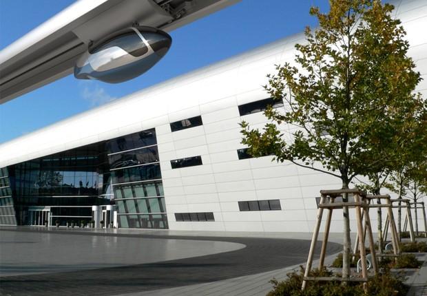 Proposta é que o skyTran seja capaz de substituir carros e transporte público (Foto: Divulgação/skyTran)