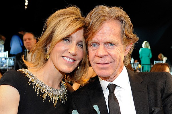 A atriz Felicity Huffman com o marido, o ator William Macy (Foto: Getty Images)