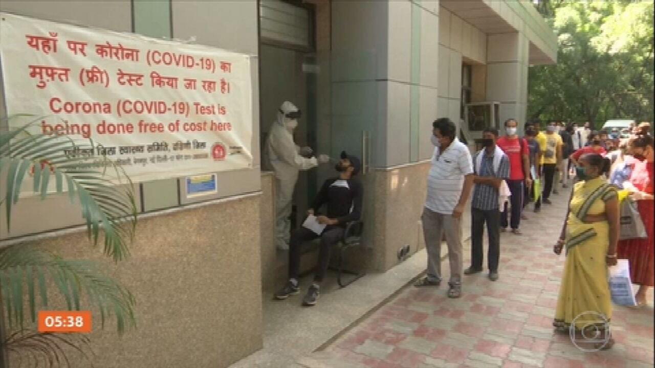 Índia tem o maior índice de mortes diárias por Covid-19 no mundo