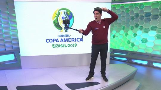 """""""Soy Loco por Copa América"""": Adnet imita Luiz Carlos Jr e Luis Roberto na rodada do Brasileirão"""