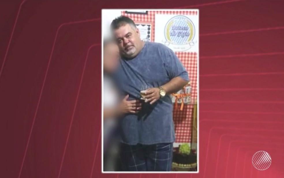 Giovanne foi atingido por seis tiros quando saía para trabalhar em Feira de Santana (Foto: Reprodução/TV Subaé)