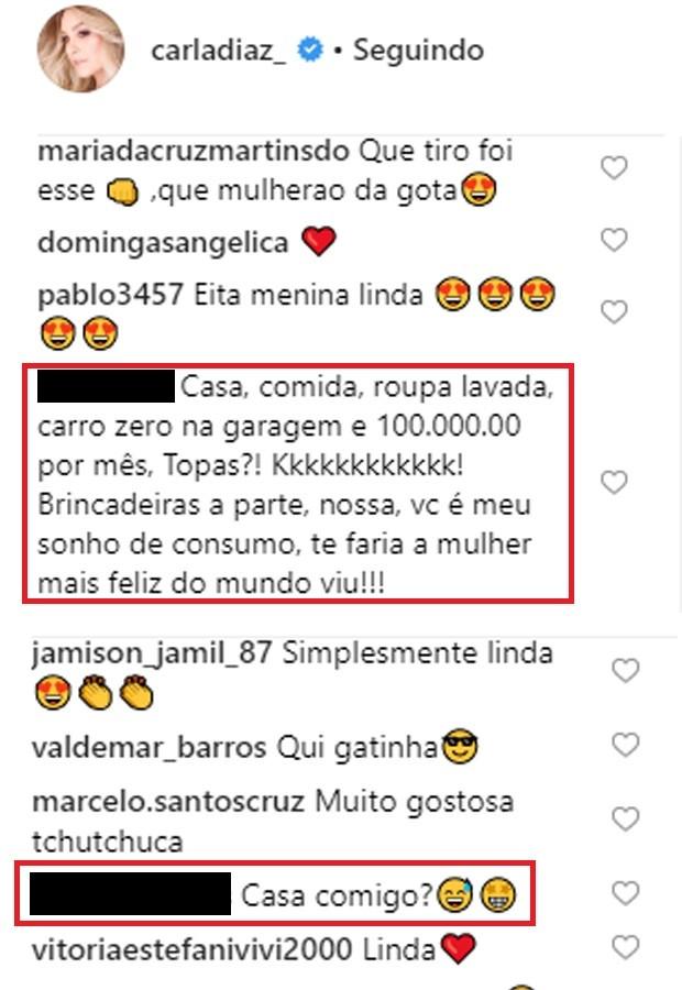 Carla Diaz é pedida em casamento na web (Foto: Reprodução/Instagram)