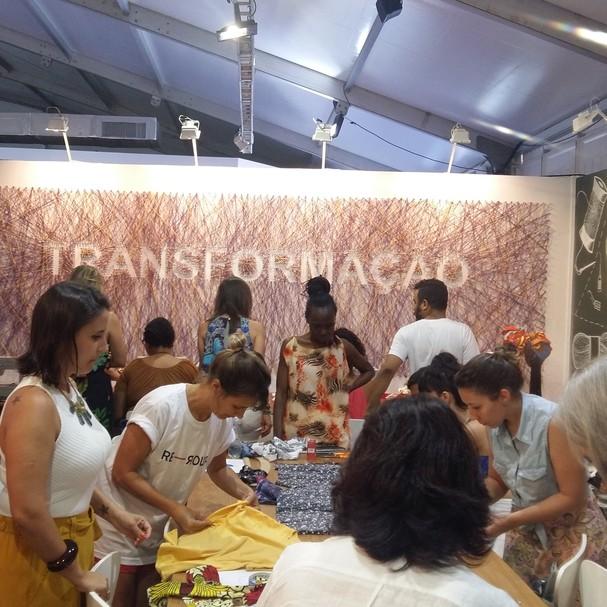 Projeto Re-Roupa (Foto: Divulgação)