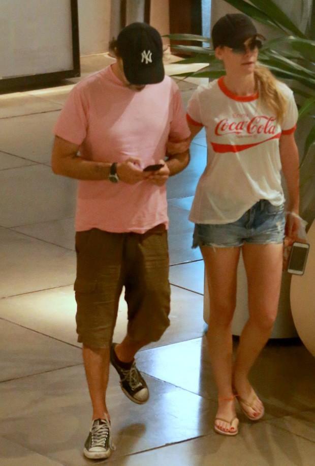 Alinne Moraes e Mauro Lima (Foto: Agnews)