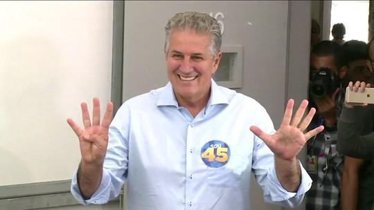 João Leite (PSDB) vota em BH