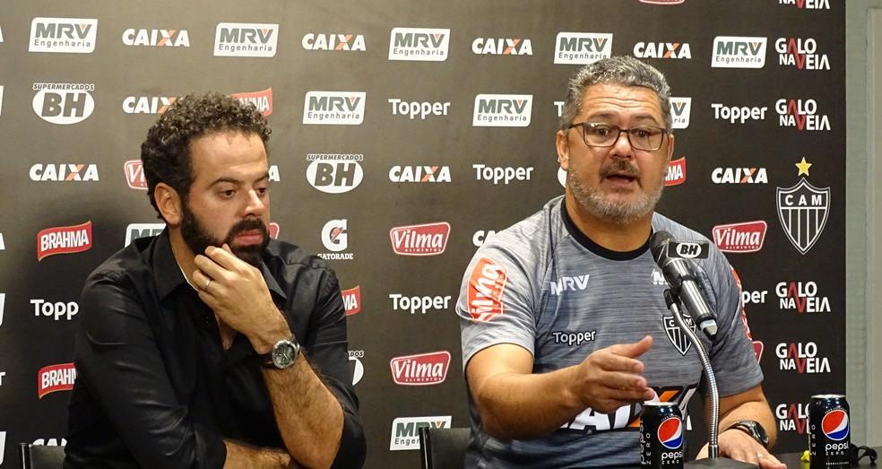 Rogério Micale, técnico do Atlético-MG (Foto: Rafael Araújo)