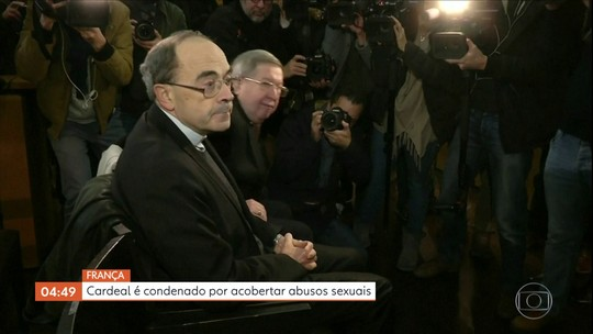 Cardeal é condenado por acobertar abusos sexuais na França