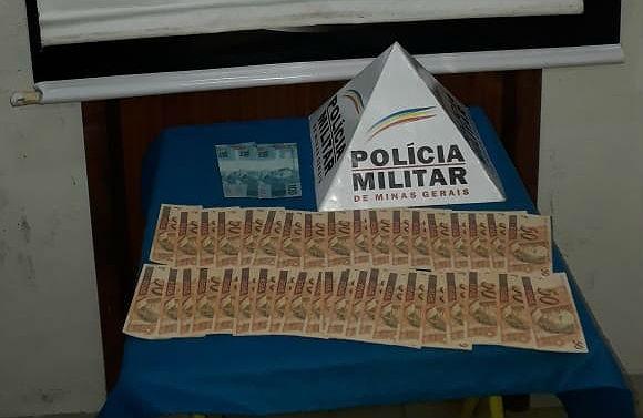Homem é detido ao receber mais de R$ 2 mil em notas suspeitas de serem falsas em Juiz de Fora - Notícias - Plantão Diário