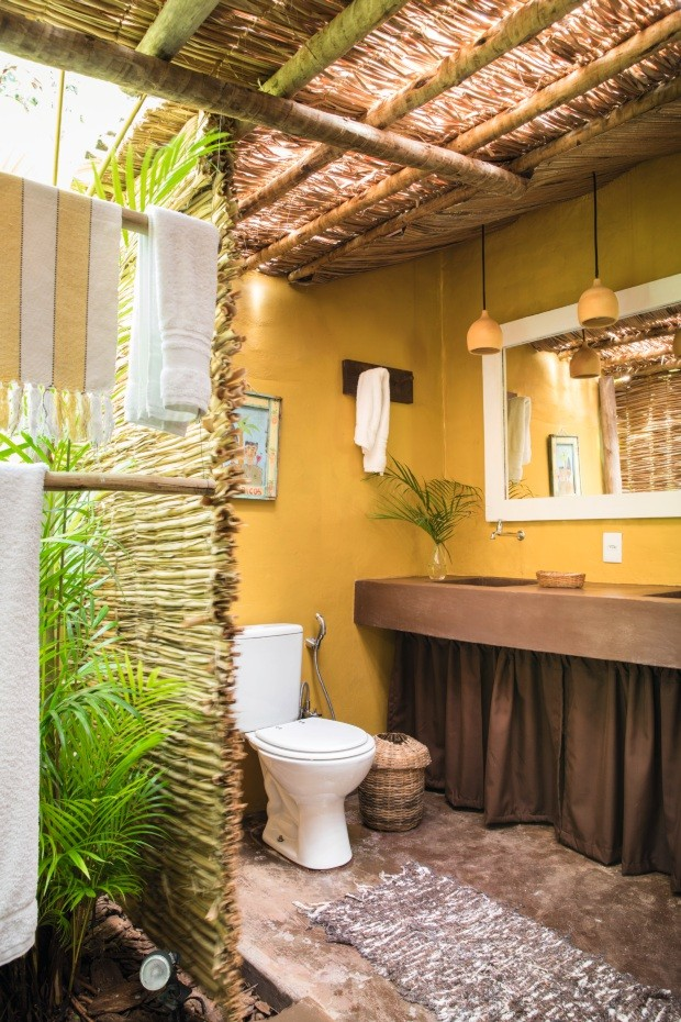 Life by Lufe. Casa da empresária Karin Farah, em Trancoso (Foto: Lufe Gomes / Editora Globo)