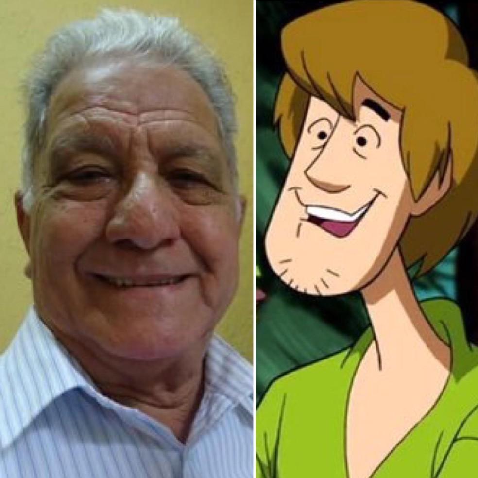 Mário Monjardim, dublador do Salsicha, morre aos 86 anos — Foto: Reprodução/Instagram
