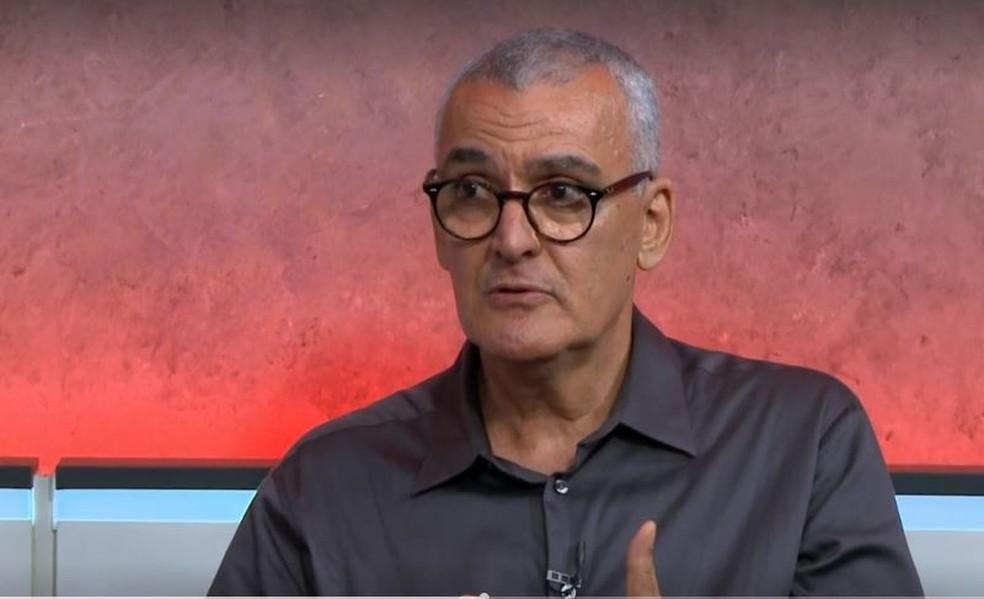 Jamal Suleiman, médico infectologistas do Instituto Emílio Ribas.  — Foto: Reprodução/G1