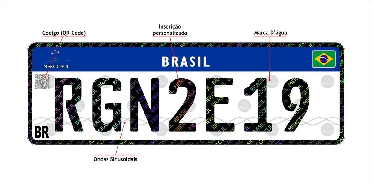 Detran-RN inicia implantação de placas no padrão Mercosul  82b2b351ebf60