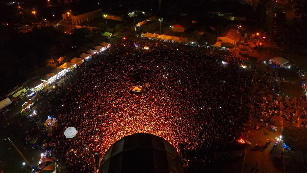 Evento é tradicional na cidade e costuma atrair milhares de pessoas. — Foto: Prefeitura de Juscimeira/Divulgação