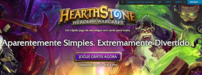 Hearthstone: como criar uma conta no game (Foto: Reprodução/Murilo Molina)