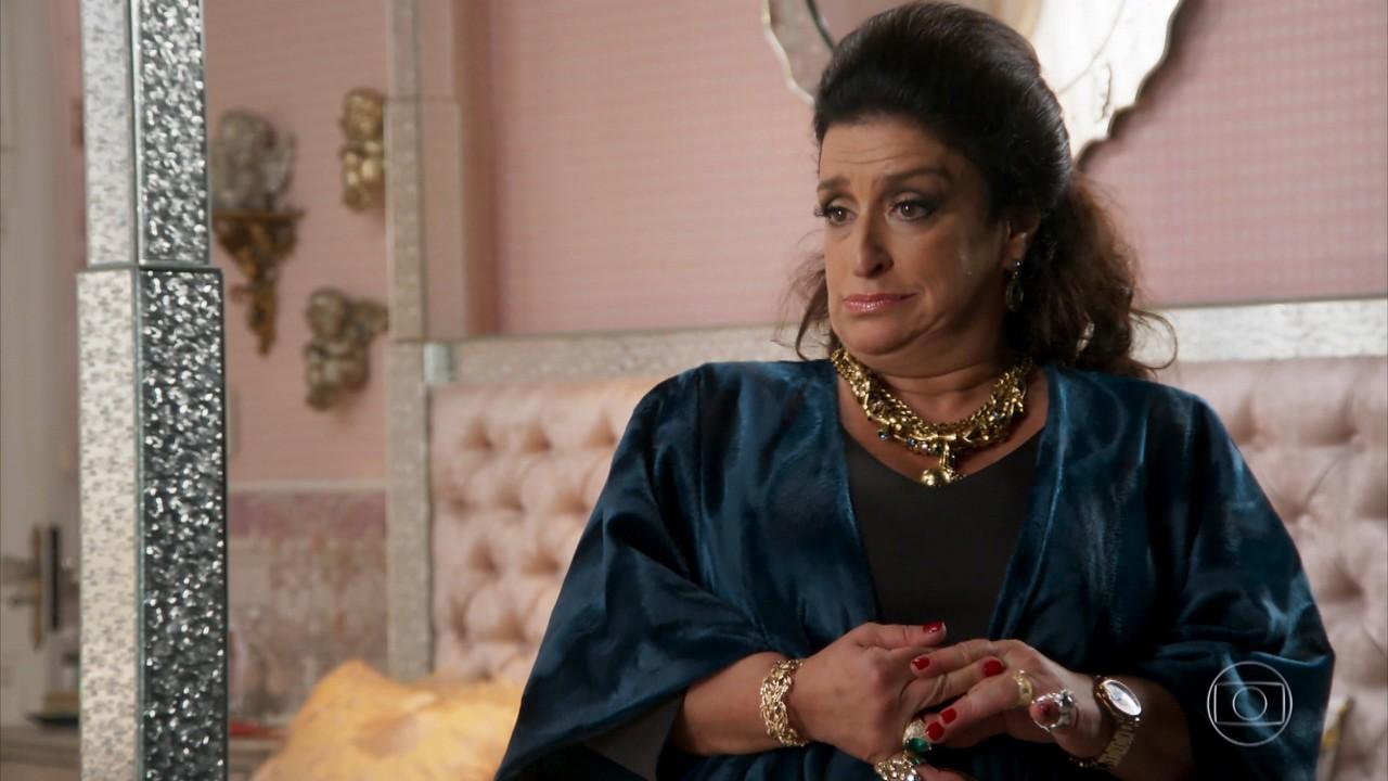 Teodora pensa em se vingar da família de Francesca