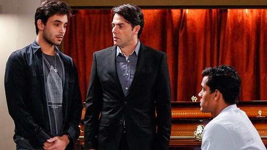 Últimos capítulos: Fred se redime e pede desculpas a Ivan e Sérgio