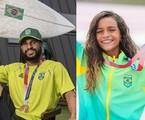 Ítalo Ferreira e Rayssa Leal serão tema de documentário do Globoplay | Divulgação/COB