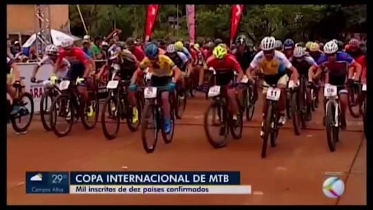 Mais de mil atletas de 10 países diferentes disputam etapa de Araxá da CIMTB