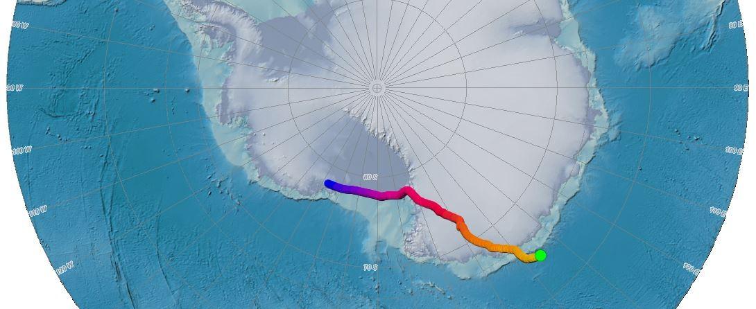 Pólo Sul magnético está cada vez mais perto da Austrália.  (Foto: NOAA)