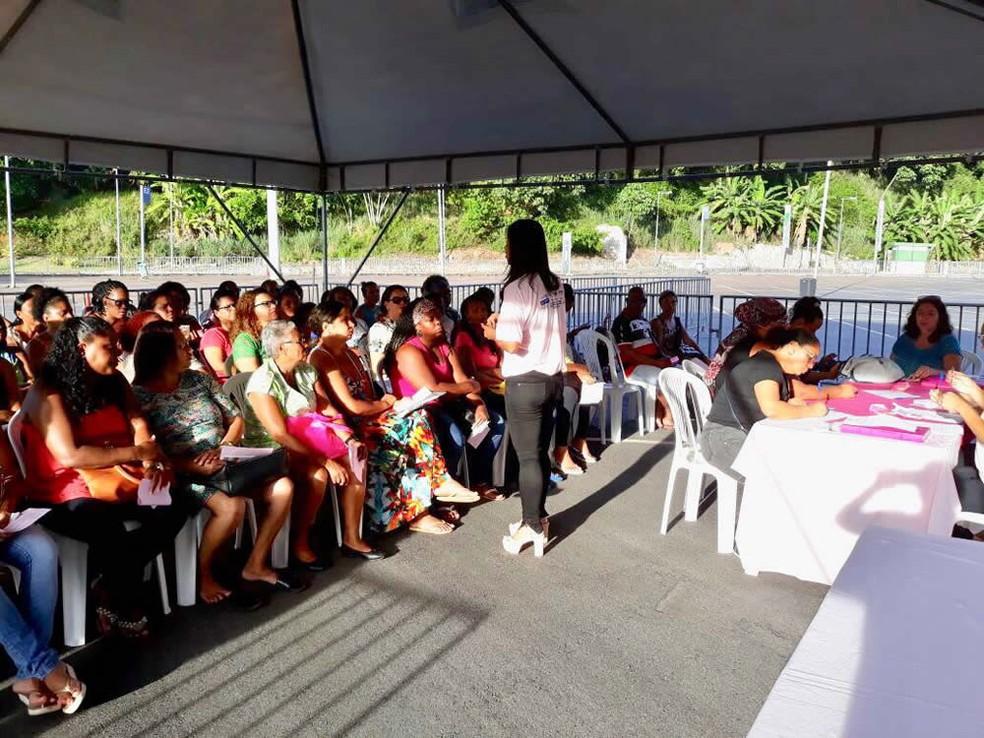 Feira de saúde será no estacionamento da Arena Fonte Nova, em Salvador — Foto: Divulgação