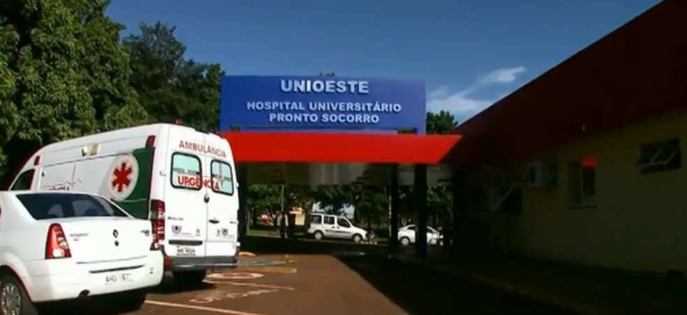 Em um comunicado, Unioeste fez um apelo para que candidatos não desistam da inscrição para o concurso do HU — Foto: Reprodução/RPC