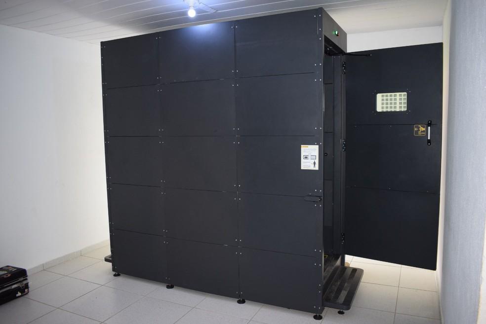 Visitantes da Penitenciária de Alcaçuz precisarão passar por scanner corporal — Foto: Divulgação