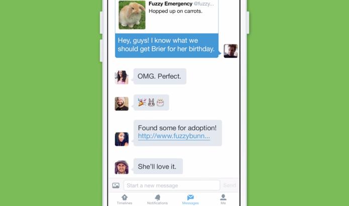 Twitter ganha grupos privados para troca de tuítes (Foto: Divulgação)