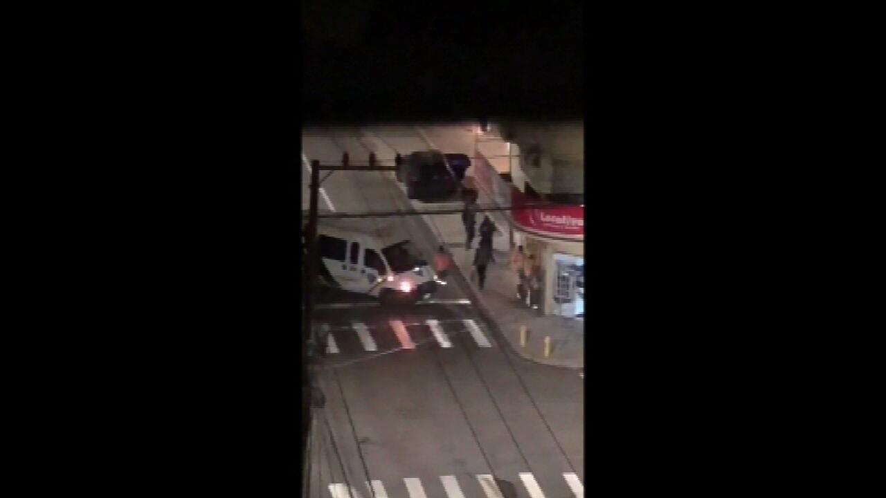 VÍDEO CRICIÚMA: veja momentos de troca de tiros durante assalto