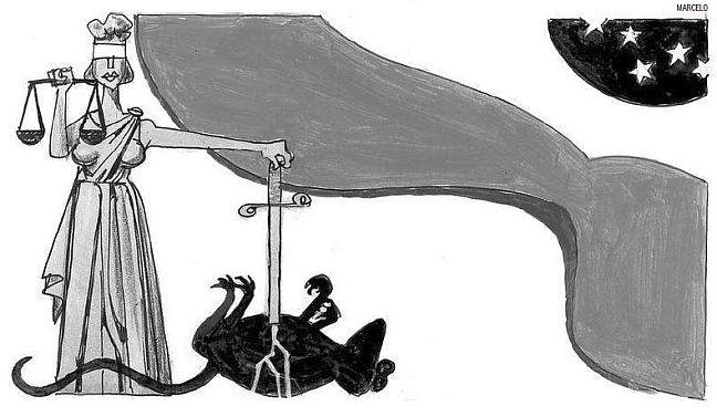 Justiça (Foto: Arte: Marcelo / O Globo)
