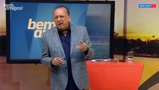 """Antes de semifinal, Galvão Bueno define Brasil x Argentina: """"Maior clássico do mundo"""""""