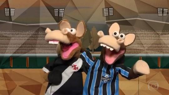"""Vasco e Grêmio """"juntos e shallow now"""": veja os gols do Fantástico"""
