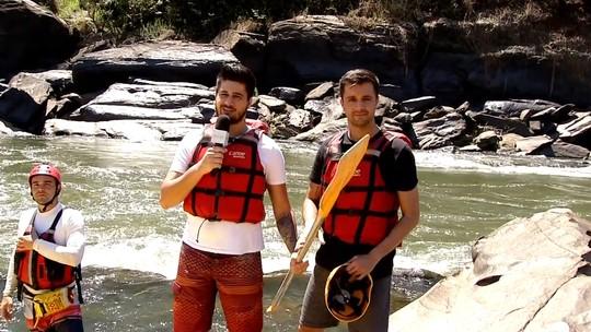 'Bora Lá' conheceu percurso de rafting em Sapucaia