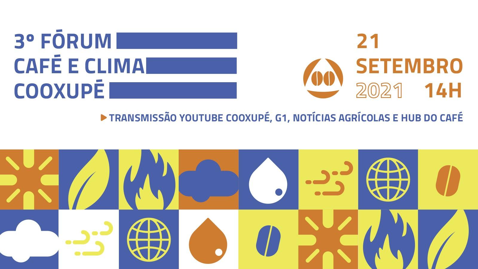 3ª edição do Fórum Café e Clima da Cooxupé acontece em setembro