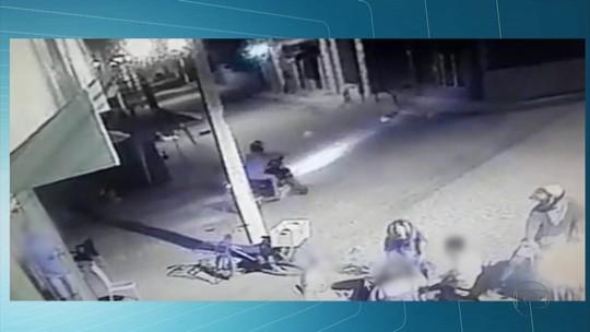 Câmera de segurança flagra assalto a bar em Porto de Galinhas, no Grande Recife