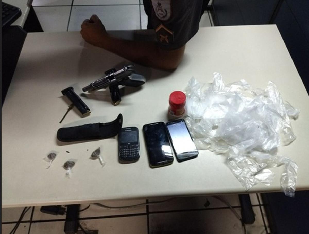 Polícia apreende armas e munição, e detém suspeito no Parque Eldorado, em Campos, no RJ