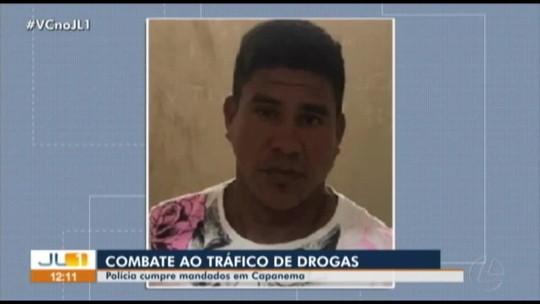 Duas pessoas são presas durante operação de combate ao tráfico de drogas em Capanema, no Pará