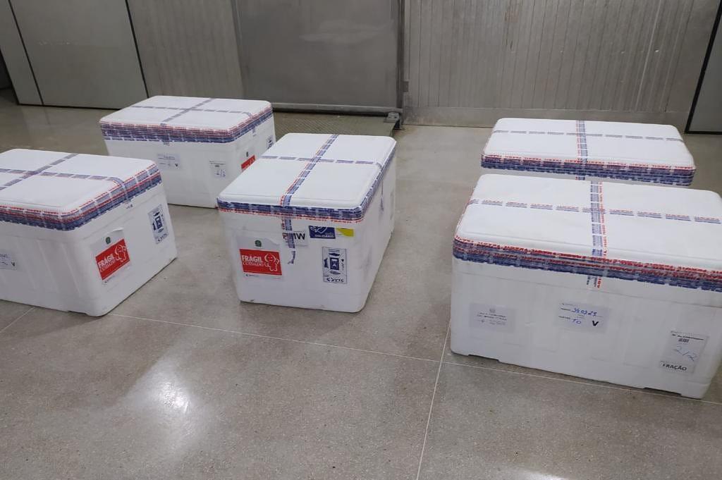Governo pretende contratar caminhões refrigerados para usar como centrais de vacinas em duas cidades